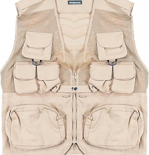 Humvee Combat Tactical Vest Khaki Medium