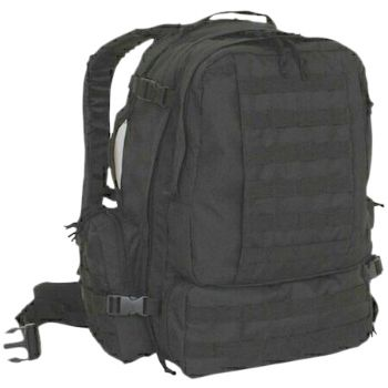 Humvee 3 Day Assault Pack Black