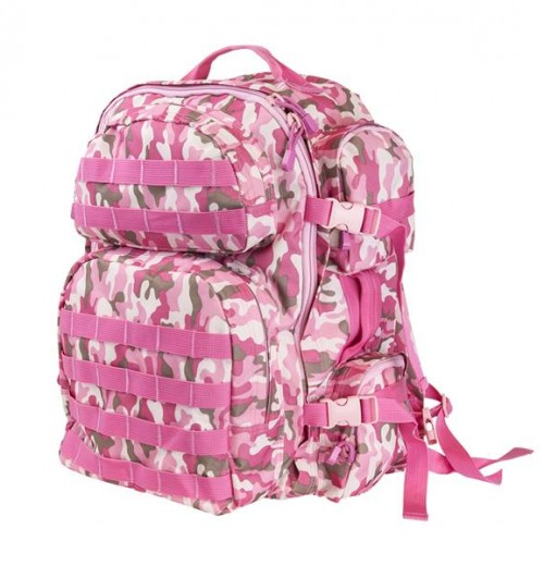 Vism By Ncstar Tactical Backpack/ Pink Camo