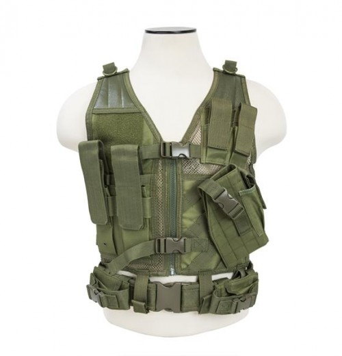 Vism By Ncstar Tactical Vest/Green Xs-s