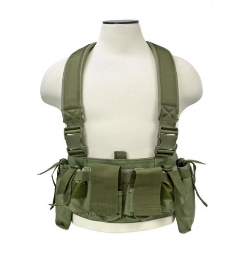 Vism By Ncstar Ultimate Chest Rig/Green 1