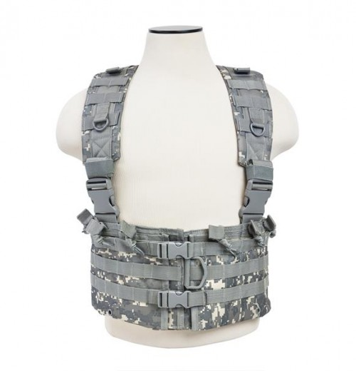 Vism By Ncstar Ar Chest Rig/Digital Camo 1