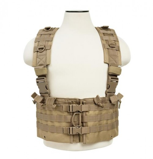 Vism By Ncstar Ar Chest Rig/Tan