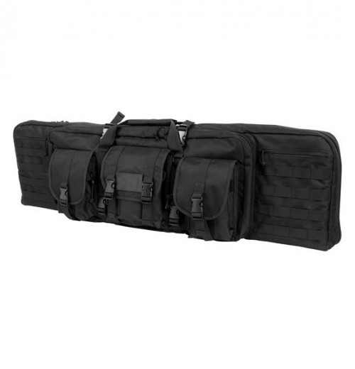 Vism By Ncstar Double Carbine Case/Black/36 In