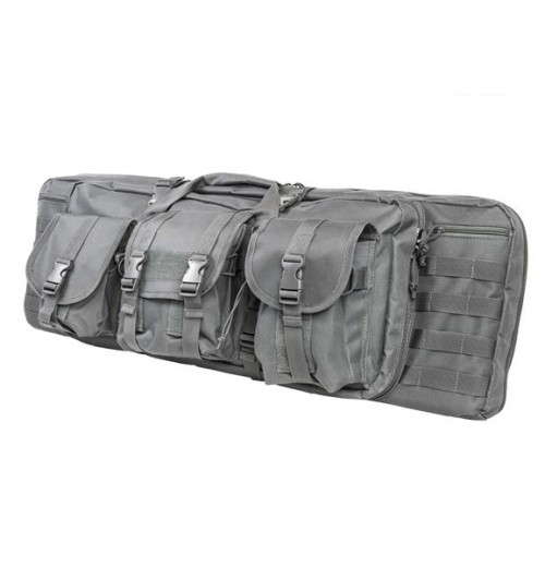 Vism By Ncstar Double Carbine Case/Urban Gray/36 In