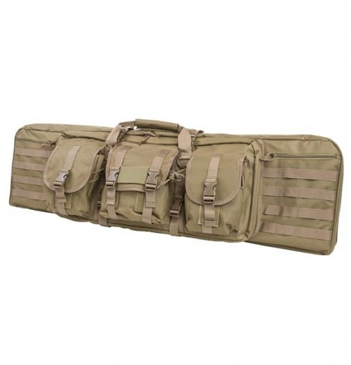 Vism By Ncstar Double Carbine Case/Tan/42 In