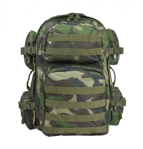 Vism By Ncstar Tactical Back Pack/Woodland Camo