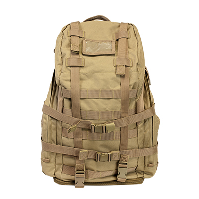 Vism By Ncstar Tactical 3 Day Backpack/Tan 1