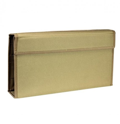Vism By Ncstar Magazine Wallet For Pistol And Rifle Mags/Tan