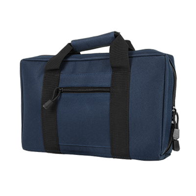 Vism By Ncstar Discreet Pistol Case/Blue W/Black Trim