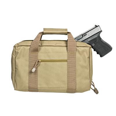 Vism By Ncstar Discreet Pistol Case/Tan