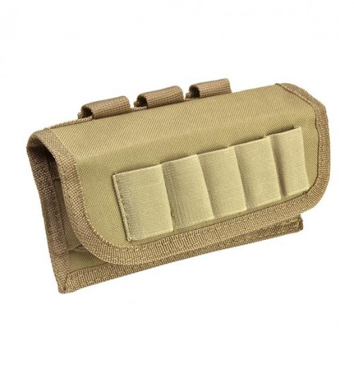Vism By Ncstar Tactical Shotshell Carrier/Tan