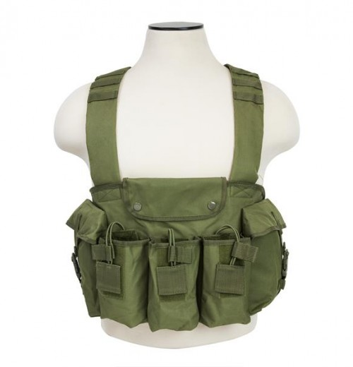 Vism By Ncstar Ak Chest Rig/Green
