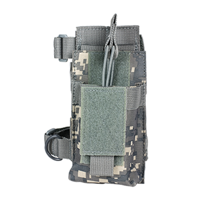 Vism By Ncstar Ar Single Mag Pouch With Stock Adapter/Digital Camo