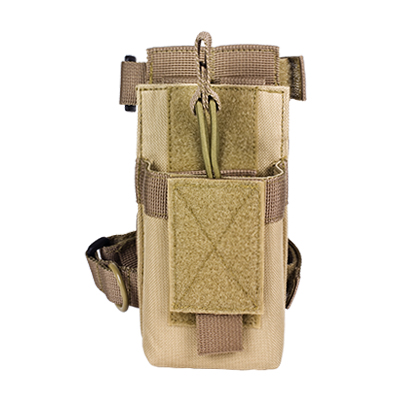 Vism By Ncstar Ar Single Mag Pouch With Stock Adapter/Tan
