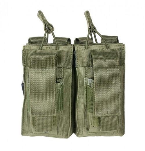 Vism By Ncstar Ar Double Mag Pouch/Green 1