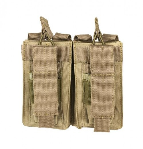 Vism By Ncstar Ar Double Mag Pouch/Tan