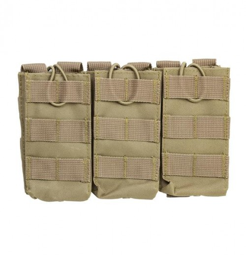 Vism By Ncstar Ar Triple Mag Pouch/Tan