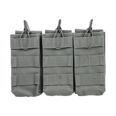 Vism By Ncstar Ar Triple Mag Pouch/Urban Gray
