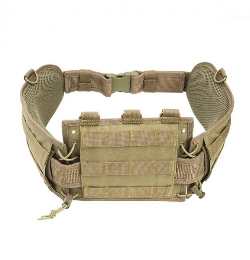 Vism By Ncstar Battle Belt W/ Pistol Belt/Tan