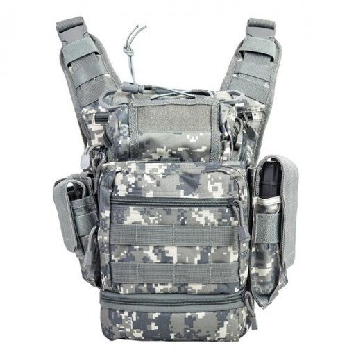 Vism By Ncstar Pvc First Responders Utility Bag/Digital Camo 1