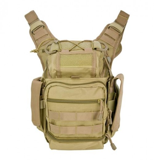 Vism By Ncstar Pvc First Responders Utility Bag/Tan 1