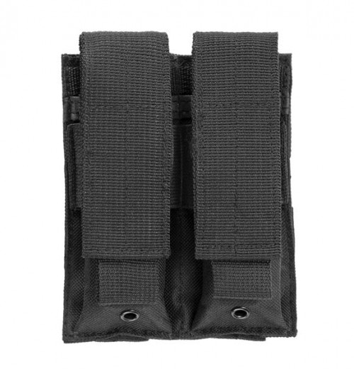 Vism By Ncstar Double Pistol Mag Pouch/Black