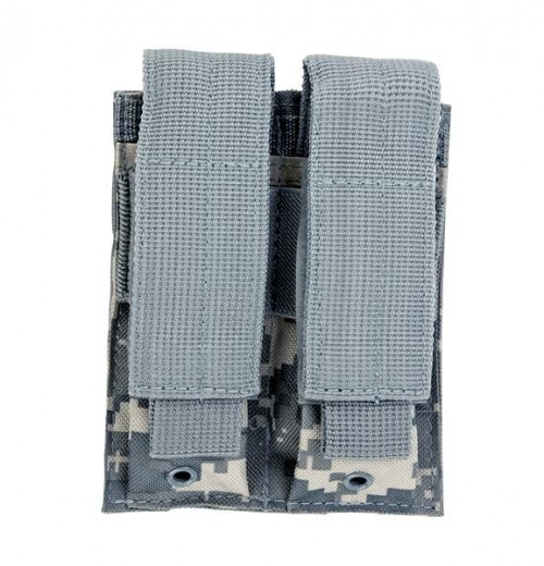 Vism By Ncstar Double Pistol Mag Pouch/Digital Camo