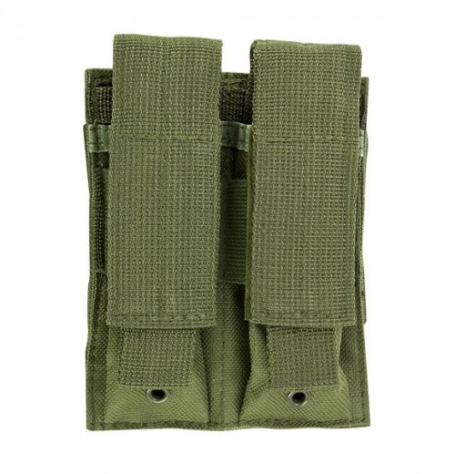 Vism By Ncstar Double Pistol Mag Pouch/Green