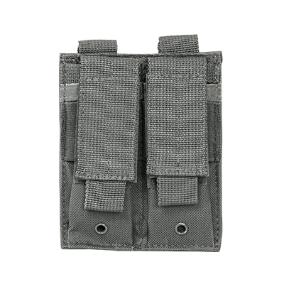 Vism By Ncstar Double Pistol Mag Pouch/Urban Gray 1