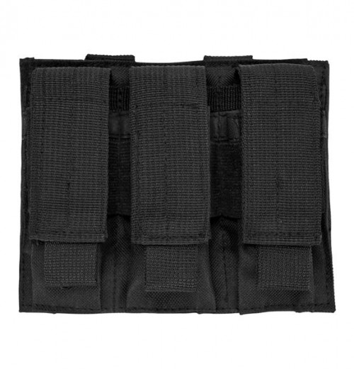 Vism By Ncstar Triple Pistol Mag Pouch/Black 1