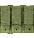 Vism By Ncstar Triple Pistol Mag Pouch/Green