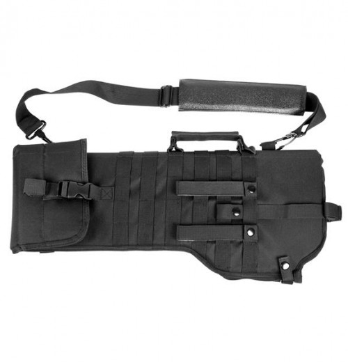 Vism By Ncstar Tactical Rifle Scabbard/Black