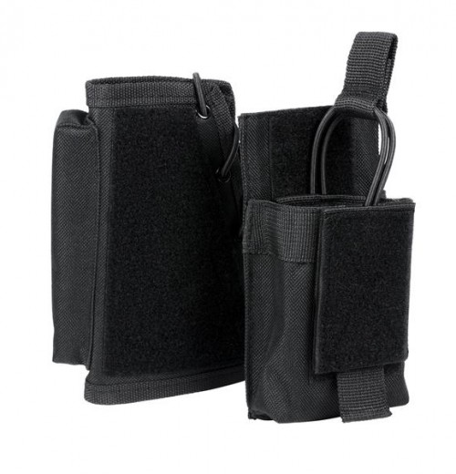 Vism By Ncstar Stock Riser With Mag Pouch/Black