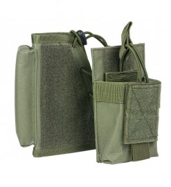 Vism By Ncstar Stock Riser With Mag Pouch/Green