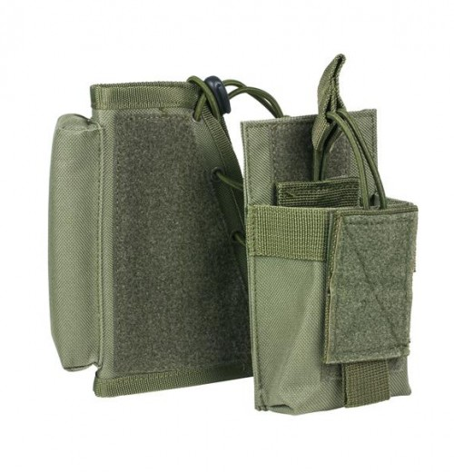 Vism By Ncstar Stock Riser With Mag Pouch/Green 1