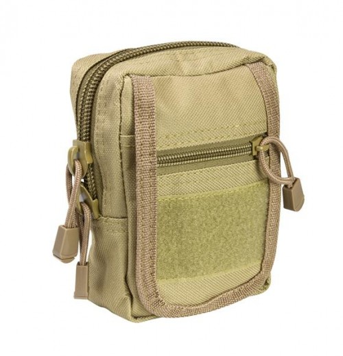 Vism By Ncstar Small Utility Pouch/Tan