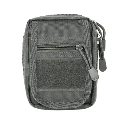 Vism By Ncstar Small Utility Pouch/Urban Gray