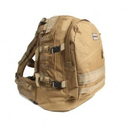 Humvee Day Pack Gear Bag Black