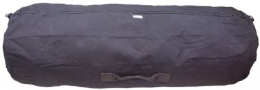 Humvee Heavy Duty Canvas Duffel Large Black
