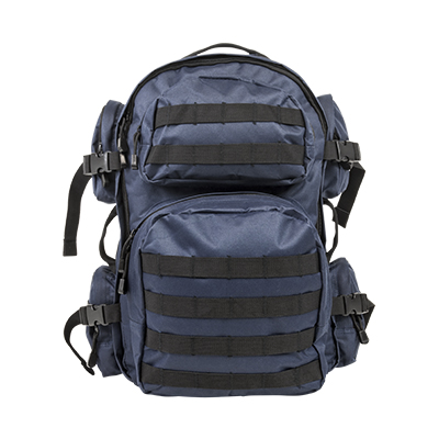 Vism By Ncstar Tactical Back Pack/ Blue W/Black Trim 1