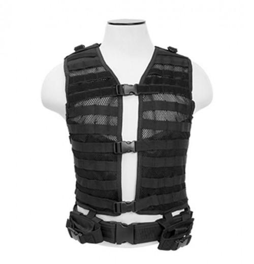 NcStar Molle Vest Black size Regular