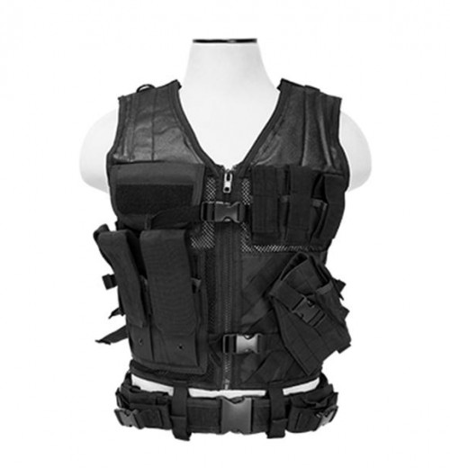 NcStar Tactical Vest Black Large