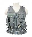 NcStar Tactical Vest Digital Camo ACU Large