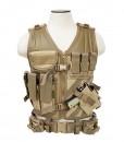 NcStar Tactical Vest Tan Large