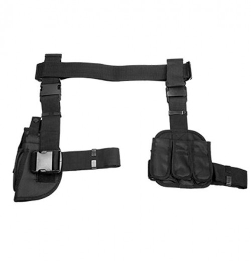 NcStar 3PCS Drop Leg Gun Holster & Magazine Holder