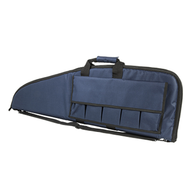 Vism By Ncstar Gun Case/40x13/Blue With Blk Trim